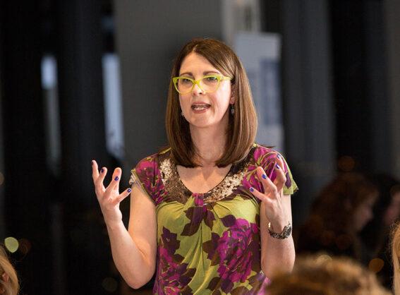 Professor Helen Sullivan, Crawford