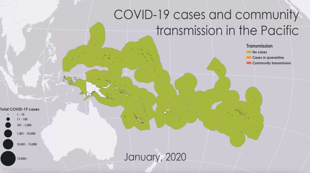 Mapping the COVID-19 response in the Pacific