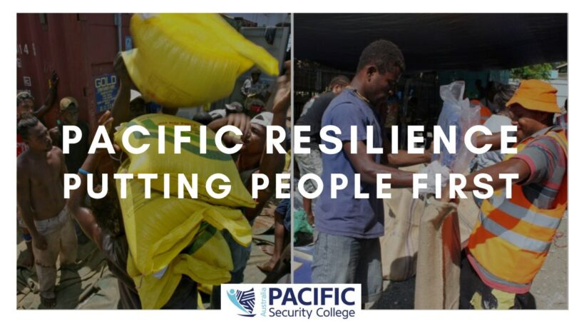 Pacific Resilience: Putting People First