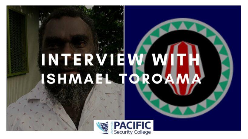 Interview with Ishmael Toroama (2019)