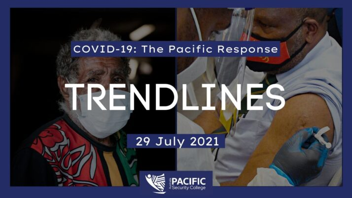 COVID-19 – the Pacific Response: 29 July 2021