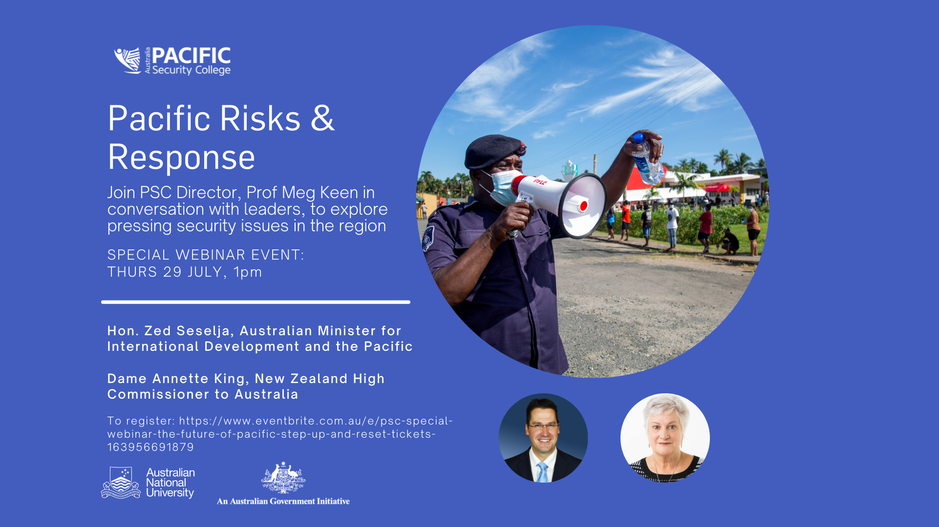 Pacific Risks and Response: Special Webinar