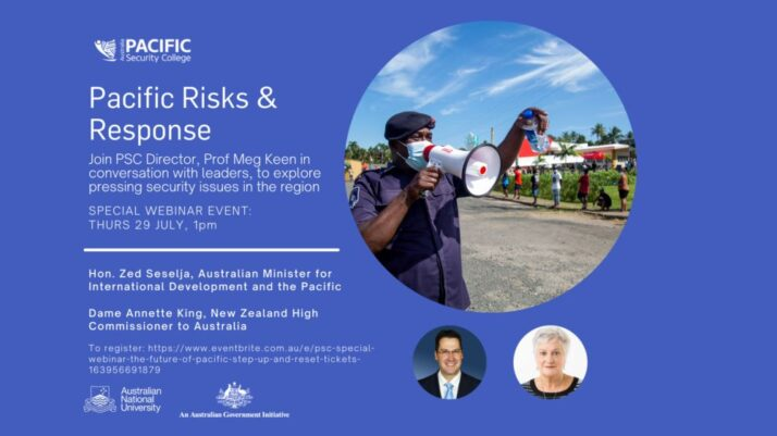 PSC  Special Webinar: The Future of Pacific Step Up & Reset