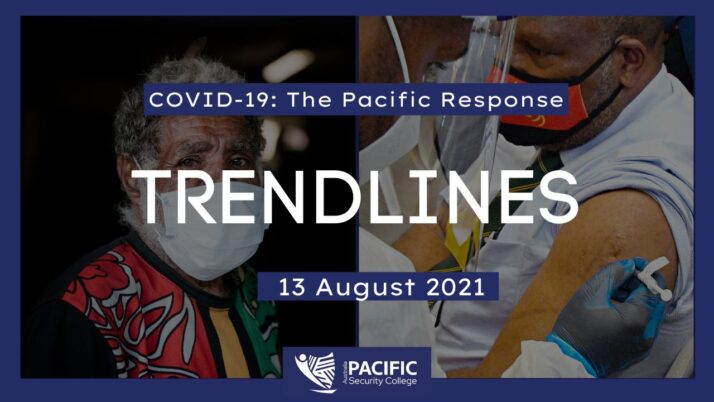 COVID-19 – the Pacific response: 13 August 2021