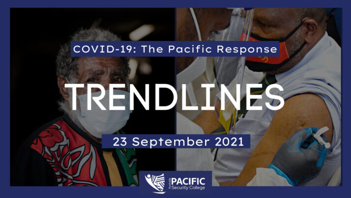 COVID-19 – the Pacific response: 23 September