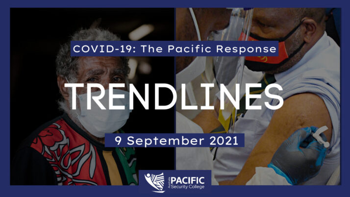 COVID-19 – the Pacific response: 9 September 2021