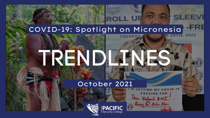 COVID-19: The Pacific Response – Trendlines from Micronesia
